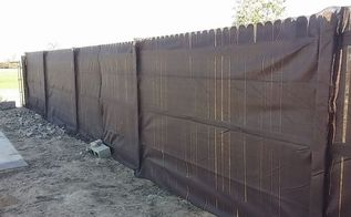 cover ugly fence, fences, outdoor living
