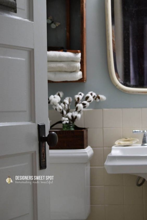 10 Steps To A Fixer Upper Style Bathroom Fixerupperstyle Hometalk
