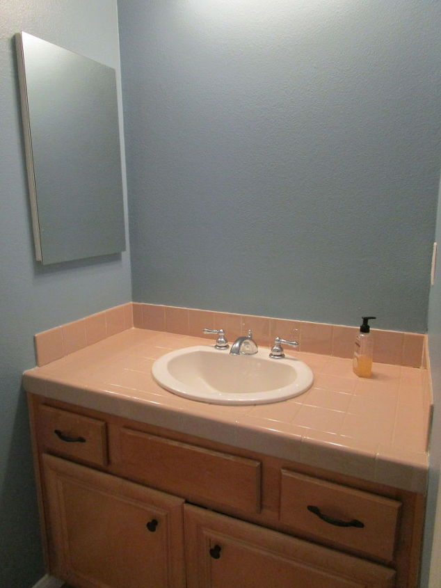 kids guest bathroom update from builder basic to wow on