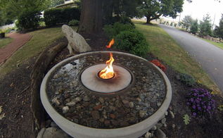 fire features, fireplaces mantels, outdoor living, ponds water features