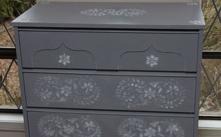 romantic in grey, chalk paint, painted furniture