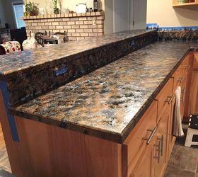 used countertops. has anyone used giani granite countertop paint