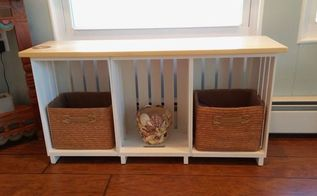 wooden crate project, painted furniture, repurposing upcycling, woodworking projects, After