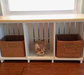 Wooden Crate Project, Painted Furniture, Repurposing Upcycling, Woodworking  Projects, After Pattie