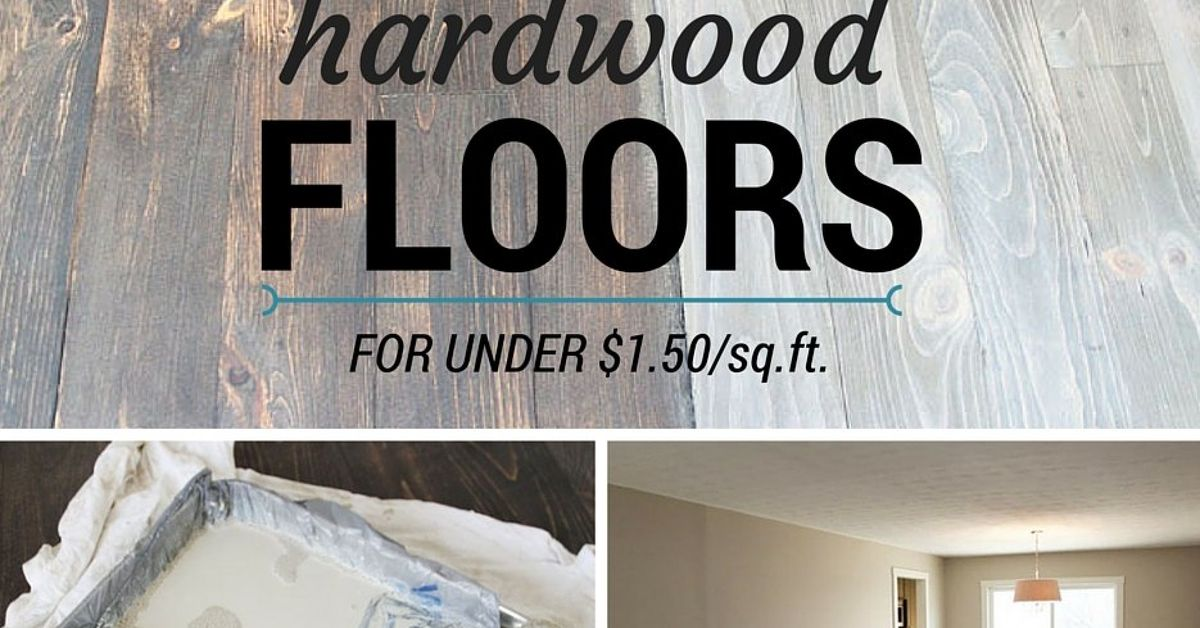 Diy hardwood floors for under hometalk for Hardwood floors 1200 square feet