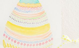 pretty easter vignette, crafts, easter decorations, seasonal holiday decor