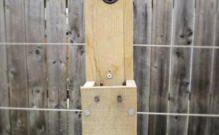 pallet wood bottle cap catcher, diy, outdoor living, pallet, woodworking projects
