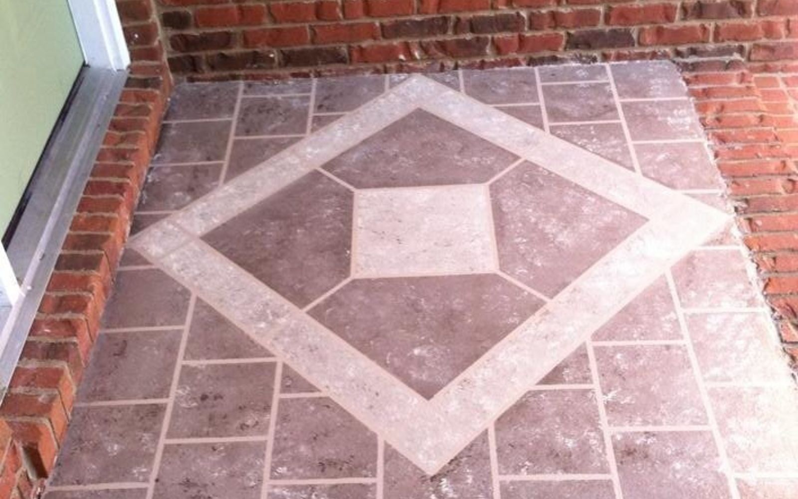Tiles for porch floor