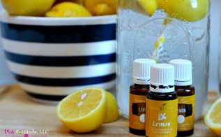 25 uses for lemon essential oil, cleaning tips