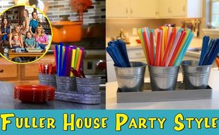 fuller house party style, crafts, how to