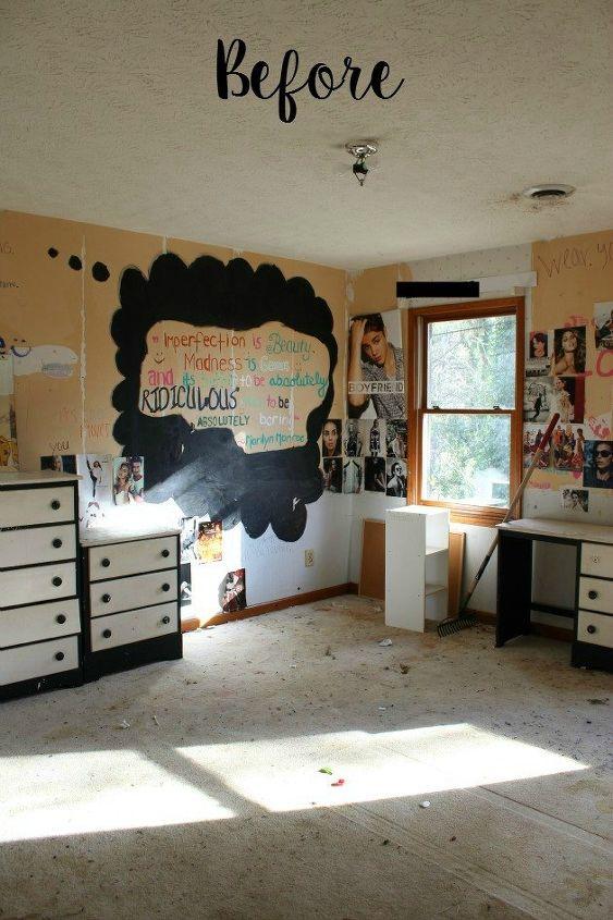 Colonial fixer upper bedroom makeover hometalk for Fixer upper bedroom designs