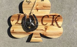 luck sign st patrick s day, crafts, seasonal holiday decor