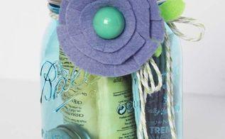 diy spa kit a mason jar gift idea for the holidays, mason jars, outdoor living, spas