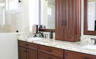 master guest bathroom remodel, bathroom ideas, home improvement