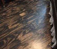 diy plywood plank floors, diy, flooring, woodworking projects