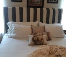 upgraded kingsize headboard, bedroom ideas, diy, reupholster, woodworking projects, AFTER