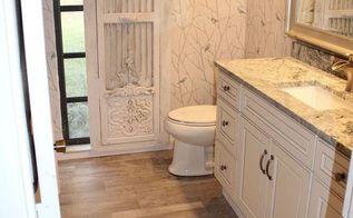 bathroom remodel barn door hardware, bathroom ideas, diy, doors, home improvement, rustic furniture