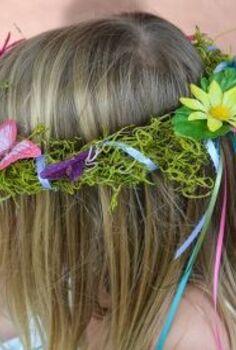 diy woodland fairy crowns, crafts, wreaths, DIY Woodland Fairy Crowns
