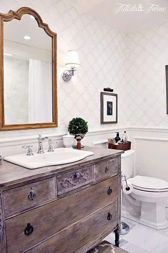 Low Cost Ways To Replace Or Redo A Hideous Bathroom