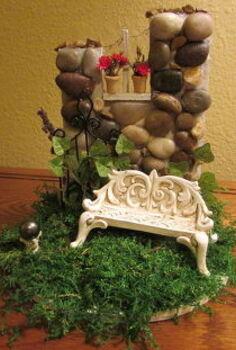 fairy garden wall, gardening