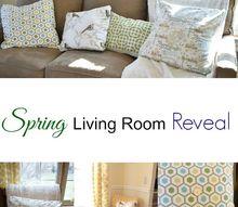 spring living room reveal diymyspring, home decor, living room ideas, seasonal holiday decor