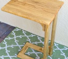 diy laptop table, diy, woodworking projects