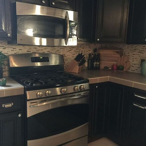 Porcelain Tile For Countertops Porcelain Tile For Kitchen Countertop  Hometalk