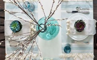 a fresh nature inspired spring or easter table setting diymyspring, easter decorations, home decor, seasonal holiday decor
