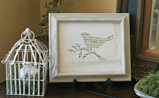 simple spring decor paper straw bird silhouette, crafts, how to, repurposing upcycling