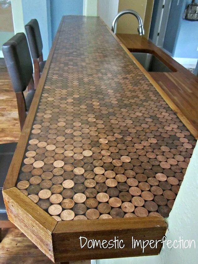 Tile The Top With Pennies