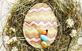 stuffed easter eggs out of paper, crafts, easter decorations, repurposing upcycling