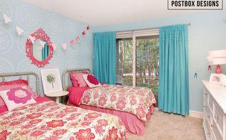 400 shared girl s bedroom, bedroom ideas, diy