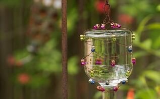 15 homemade hummingbird feeders from recycled material, animals, gardening, pets animals, repurposing upcycling