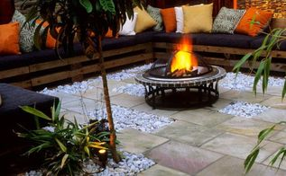 20 stunning diy fire pits you can build easily, concrete masonry, decks, diy, fireplaces mantels, outdoor living, patio