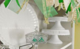ribbon garland, crafts, seasonal holiday decor