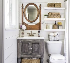 Amazing Tiny Master Bathroom Ideas #7: Small Master Bathroom Budget Makeover, Bathroom Ideas, Diy, Home Improvement
