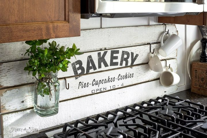 Fake It Till Ya Make It With A Diy Shiplap Styled Bakery