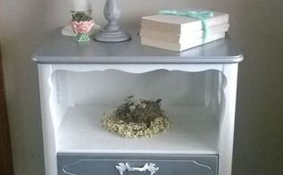curb side dud to vintage bedroom beauty, chalk paint, painted furniture