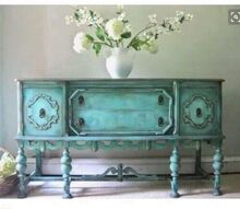 q how to achieve this finish, painted furniture, painting wood furniture