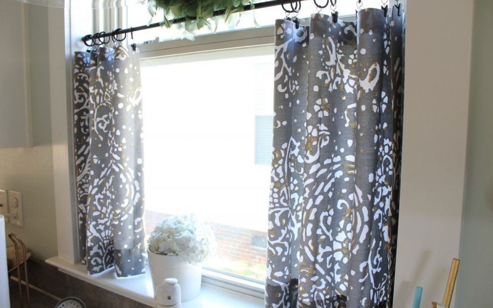 Hometalk diy drop cloth outdoor patio curtains - Home Design 2017 187 Payment24 Us