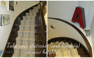 take your staircase and landing to new heights, home decor, painting, stairs