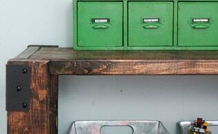 how to build an easy industrial 2x4 shelving unit, diy, shelving ideas, woodworking projects