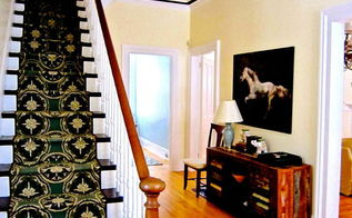 how to create a custom stairway runner look for less, home maintenance repairs, how to, stairs, reupholster