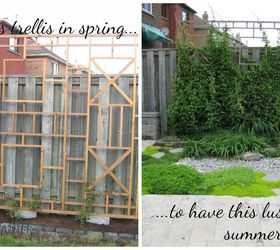 Marvelous Spring Forward Build A Trellis And Privacy Screen, Diy, Gardening, Outdoor  Furniture,