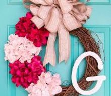 10 minute spring wreath, crafts, seasonal holiday decor, wreaths