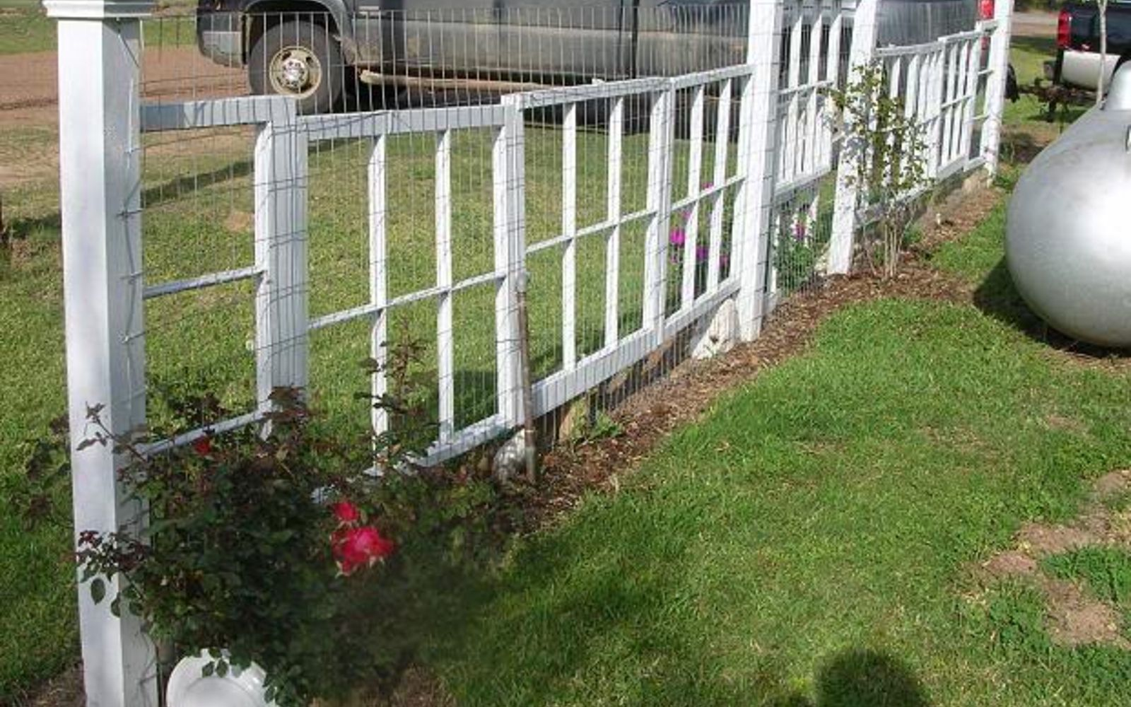 s 15 privacy fences that will turn your yard into a secluded oasis, curb appeal, fences, String together a row of extra windows