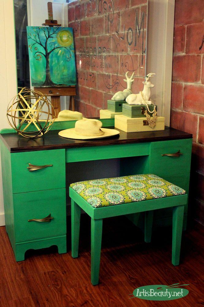 Make Your Vanity Corner Pop With Color