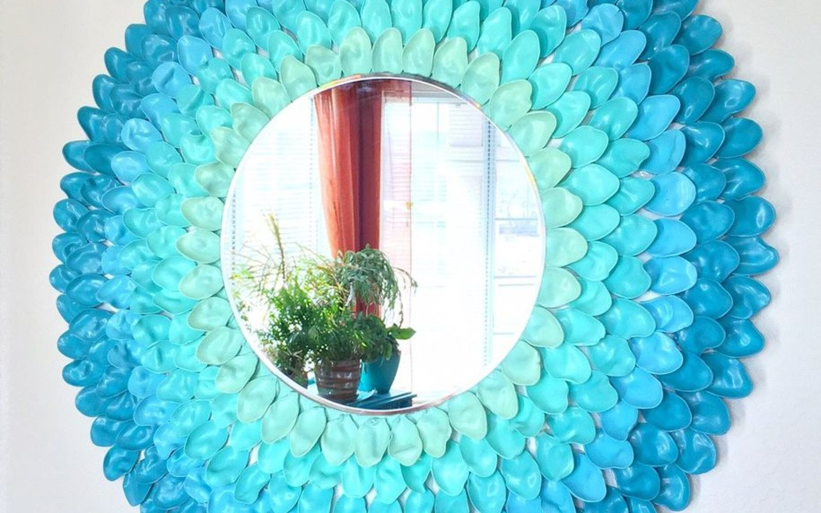 s these are the hottest diy spring trends of 2016, crafts, seasonal holiday decor, Fill your walls with DIY starburst mirrors
