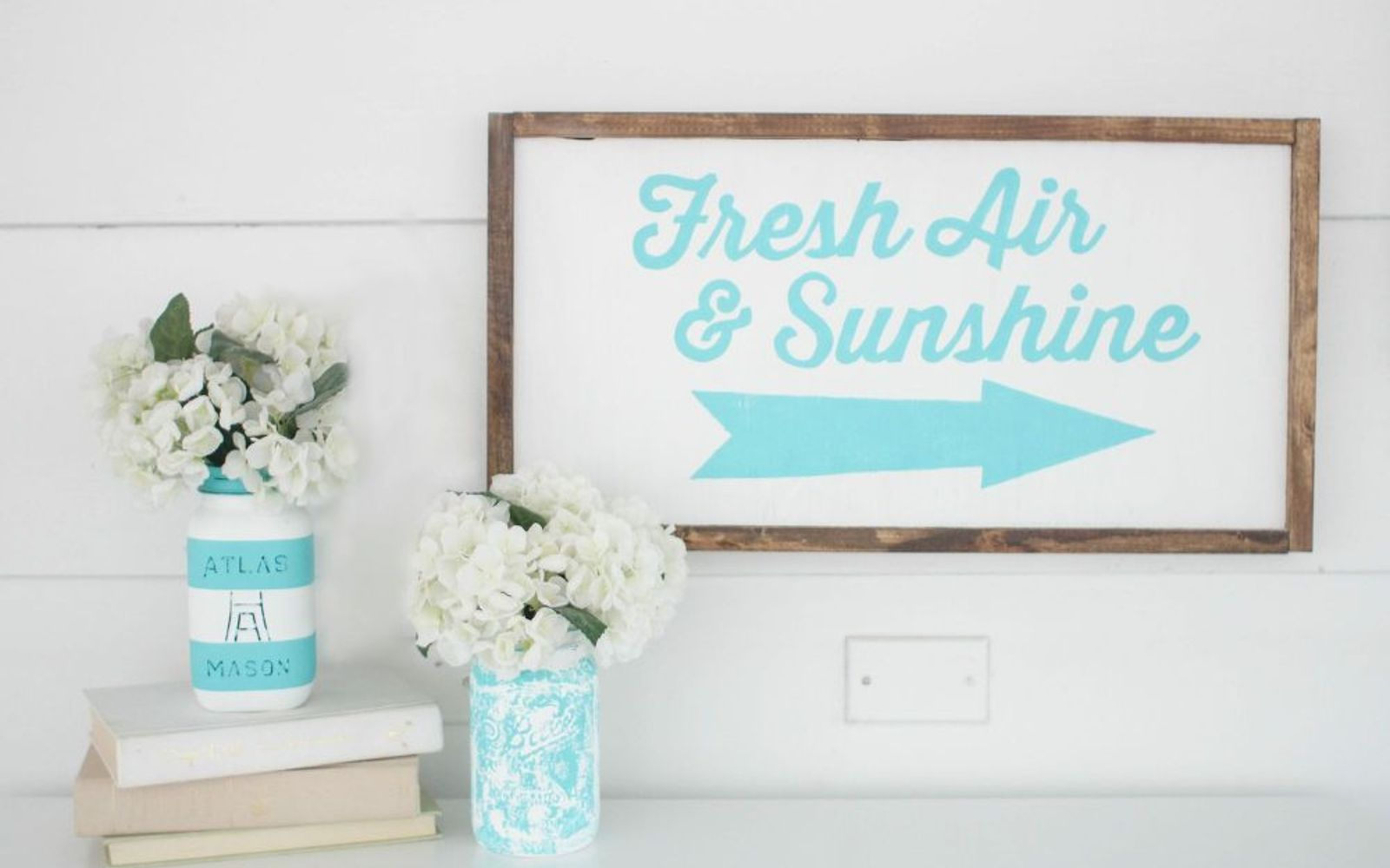 s these are the hottest diy spring trends of 2016, crafts, seasonal holiday decor, Make sweet signage instead of art