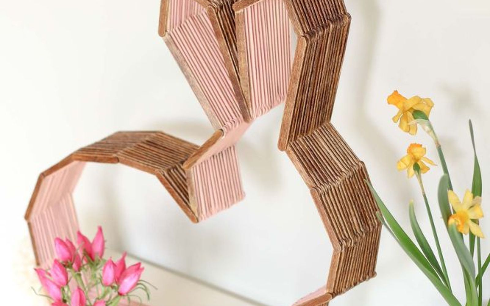 s these are the hottest diy spring trends of 2016, crafts, seasonal holiday decor, Make silhouette art using popsicle sticks